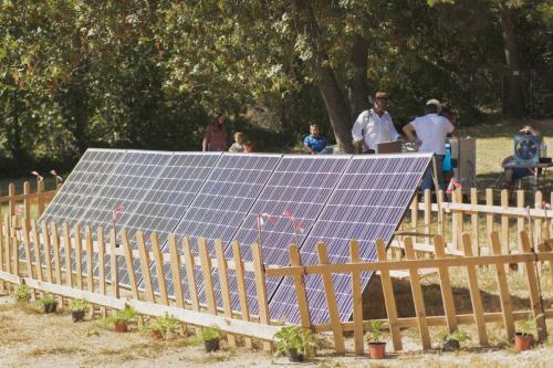 Module Solaire par SolariusCrédit photo : Frederic Blanc
